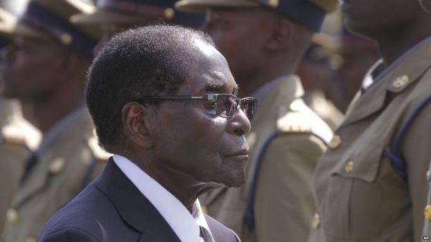 Robert Mugabe May 14, 2015