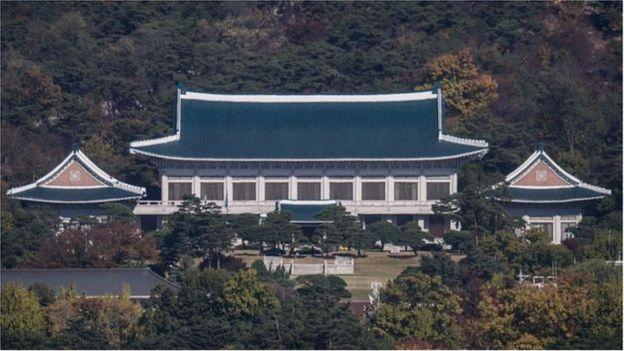 Biệt kích Bắc Hàn được điều tới Dinh Tổng thống Nam Hàn năm 1968.