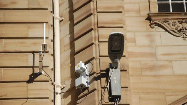 Glasgow smart streetlight/ Silver Spring network
