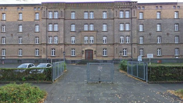 The Ermekeilkaserne barracks in Bonn, Germany