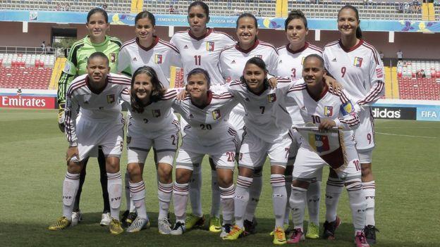 Selección venezolana de fútbol femenino sub17