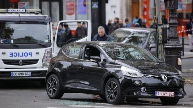 Suspicious car found on Boulevard Ornanon, Paris