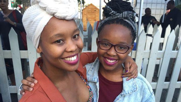 Cousins Tsholo Moncho and Keabetswe Kgantisoe