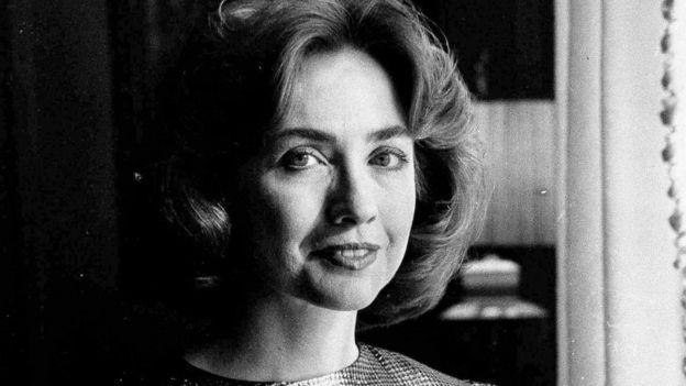 Hillary Clinton en 1985, cuando era la Primera Dama del estado de Arkansas.