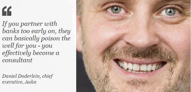 Daniel Doderlein, Auka CEO quote