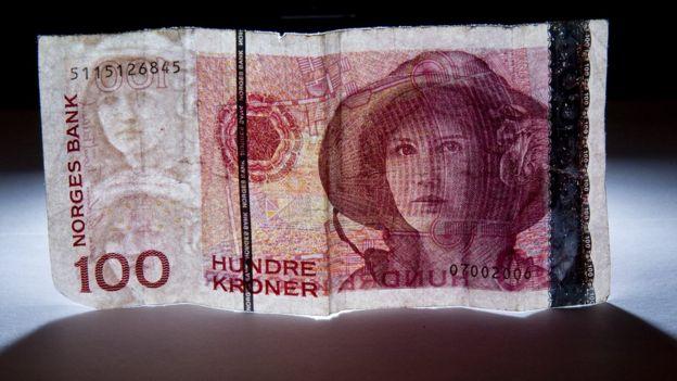 100 coronas noruegas