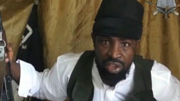 Abubakar Shekau, l'actuel chef de Boko Haram déclare être victime d'un coup monté