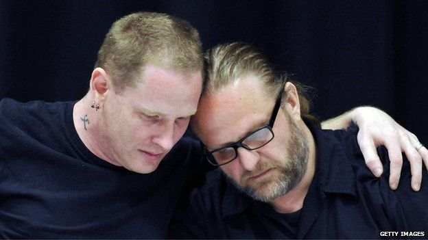 Corey Taylor and Shawn Crahan