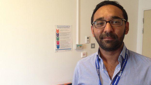 Asif Rahman, consultant at St. Mary's Hospital