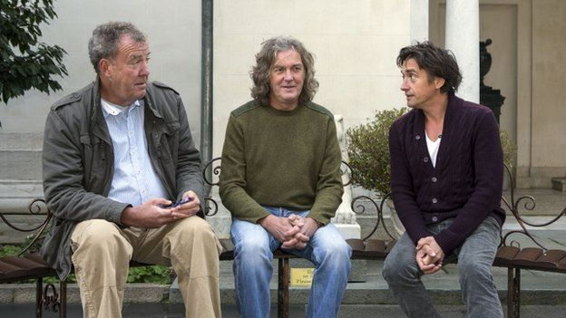 Jeremy Clarkson, James May and Richard Hammond