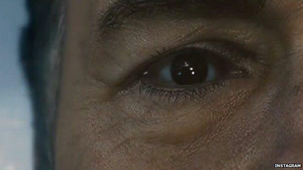 Kevin Spacey eye
