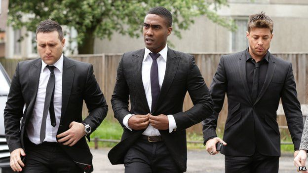 Anthony Costa, Simon Webbe and Duncan James