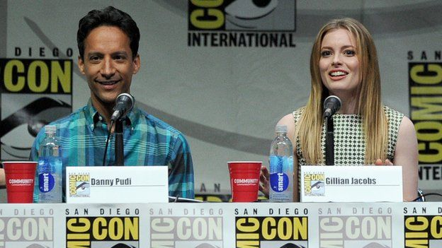 Danny Pudi and Gillian Jacobs