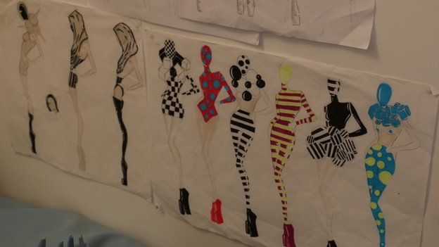 Designs for costumes