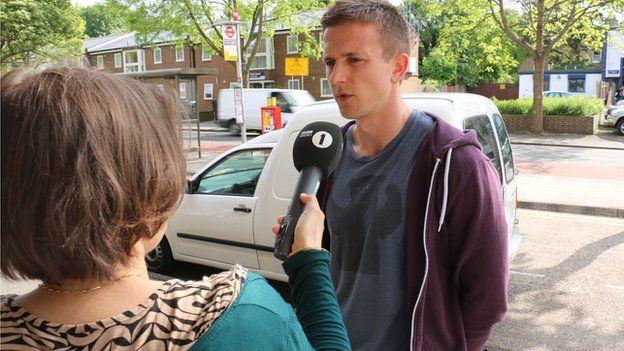 Imogen interviews James