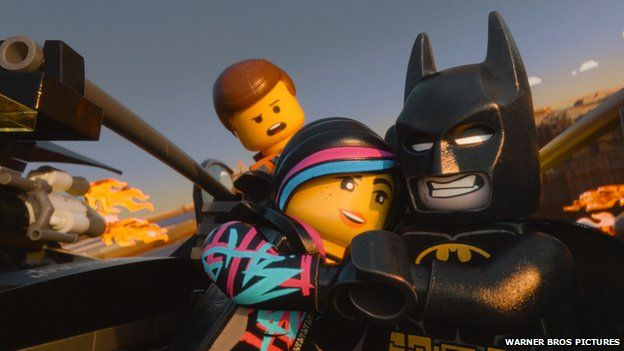 Batman and other characters from the Lego Movie