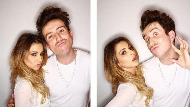 Cheryl Cole and Nick Grimshaw