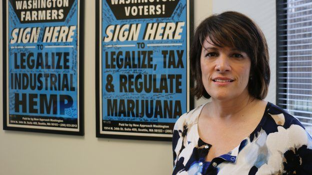 Alison Holcomb led the campaign for cannabis to be legalised in Washington