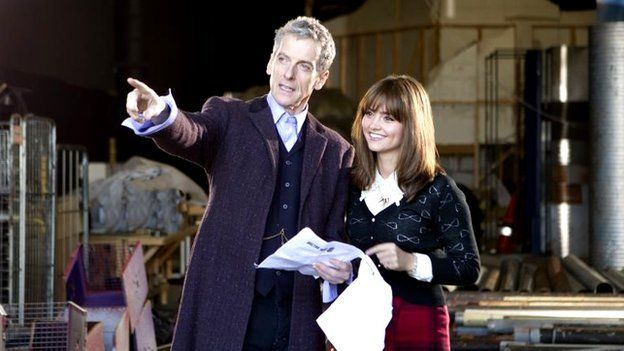 Production shot from Doctor Who