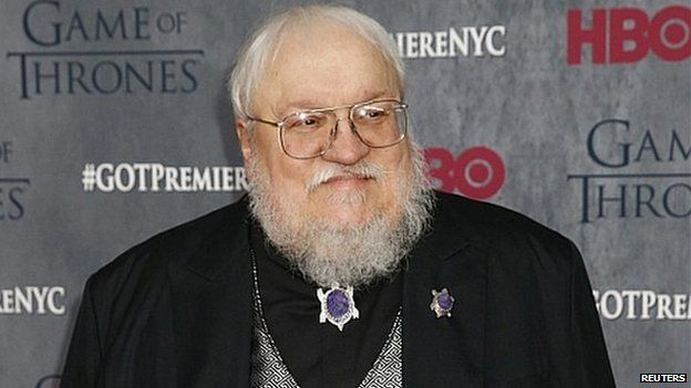 Song of Fire and Ice author, George RR Martin