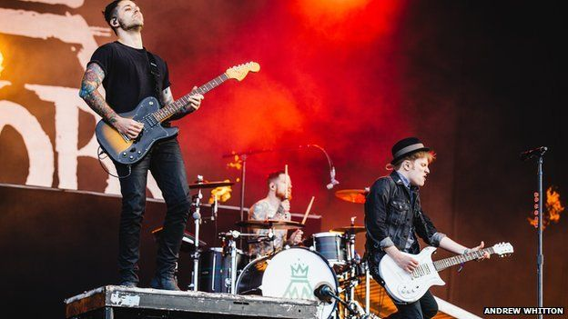 Fall Out Boy also performed on the main stage