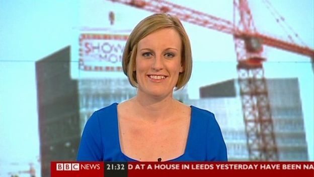 BBC presenter, Steph McGovern