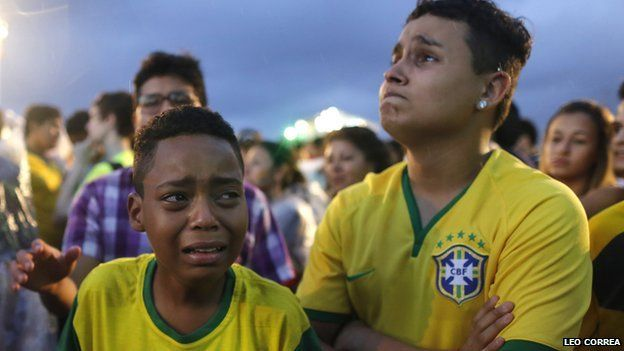 Fans were watching all over Brazil