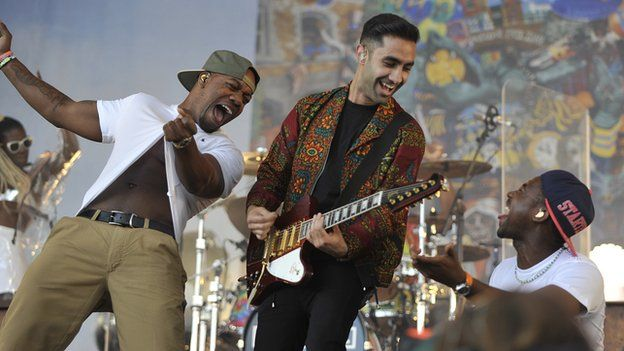 Rudimental were fifth on the 1Xtra power list and are one of four groups to be named