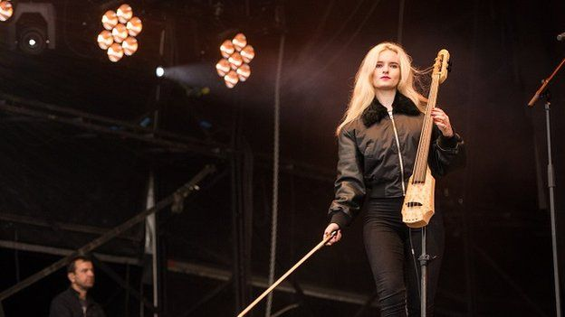 Clean Bandit on stage