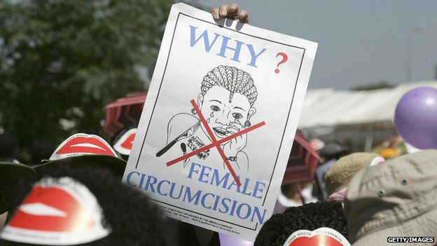 'Why female circumcision?' poster