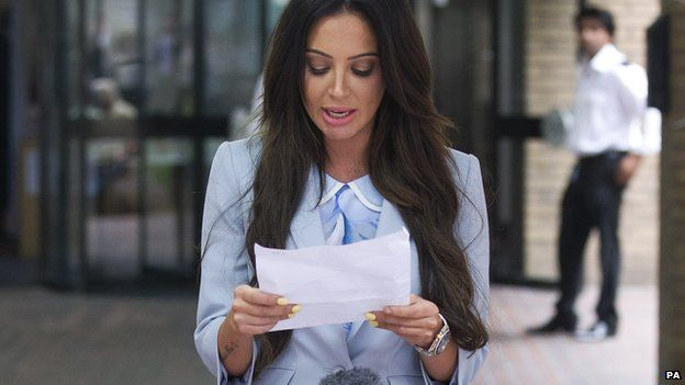 Speaking outside court, Tulisa Contostavlos said she was 'outraged' at the verdict in her assault case