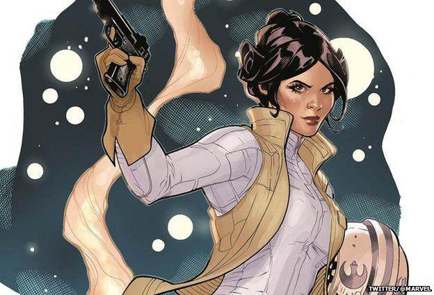 Princess Leia comic image