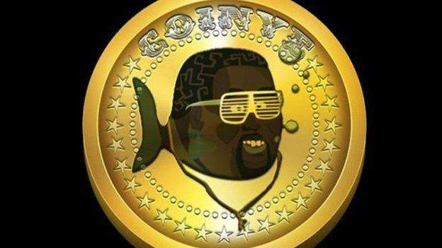 Coinye icon with added fishtail