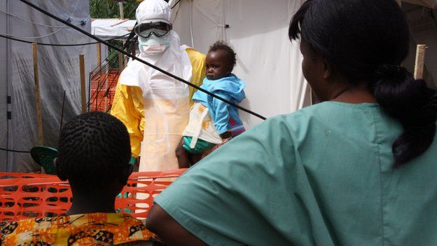 Baby tested for Ebola
