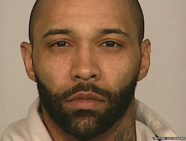 a picture of Joe Budden was posted by NYPD