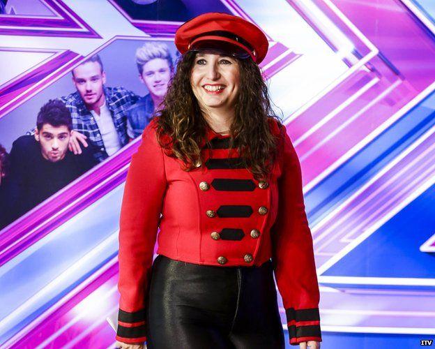 Jale Antor dressed as Cheryl