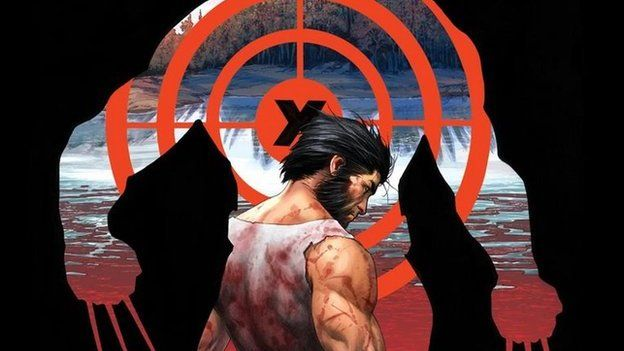 Marvel posted the cover of Death of Wolverine part one on Twitter