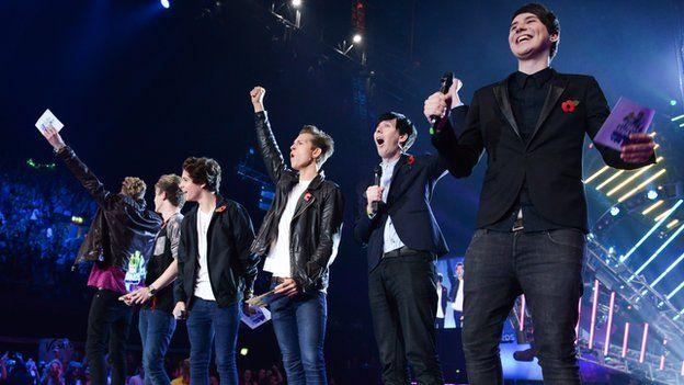 The Vamps at Teen Awards 2013
