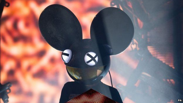 Deadmau5 performing during the iTunes Festival at the Roundhouse in Camden