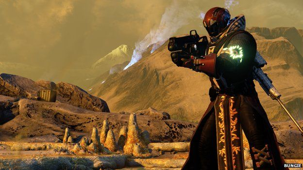 Screenshot from Destiny
