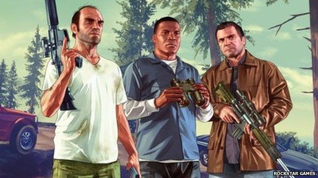 Trevor, Franklin and Michael