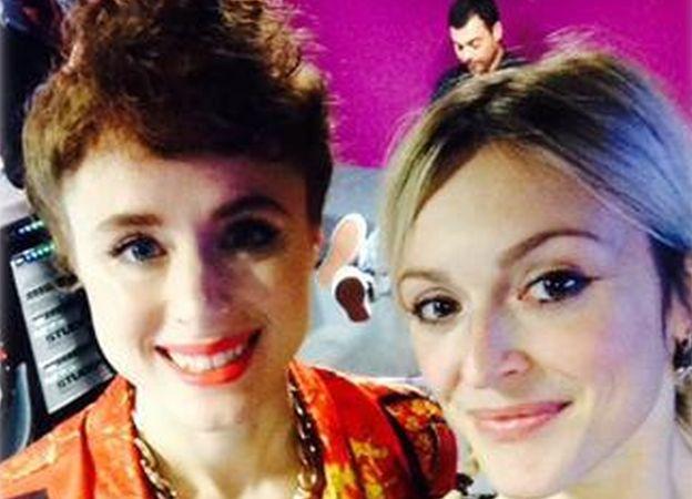 Kiesza and Fearn's selfie