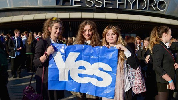 Young voters at the Radio 1's Big Big debate