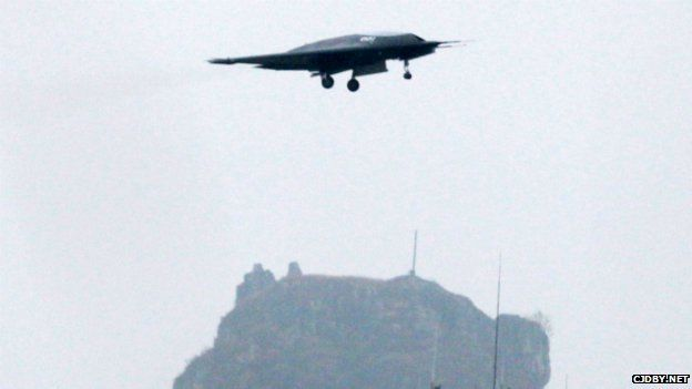 Chinese stealth drone