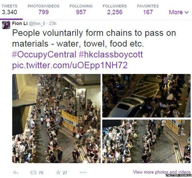 Tweets about Hong Kong