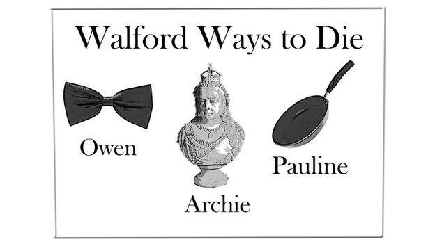 Walford ways to die