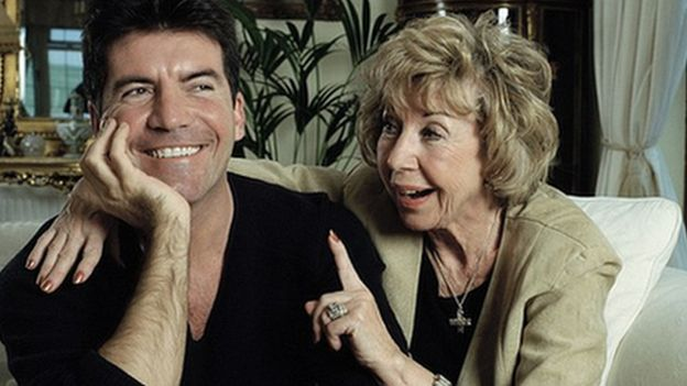 Simon Cowell and Julie Brett