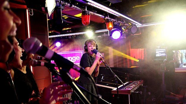 Taylor Swift in the Live Lounge