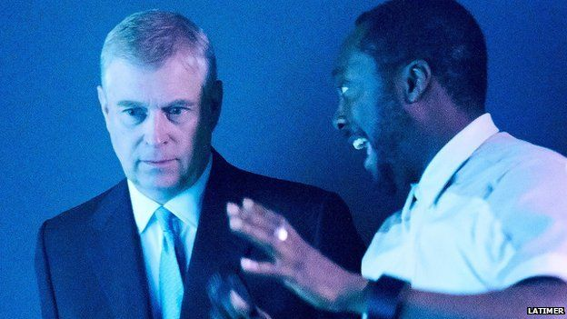 The Duke of York and will.i.am