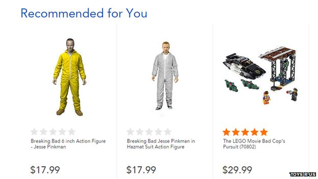 Dolls available on Toys R Us website